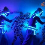 Светодиодные костюмы Fire Spirit