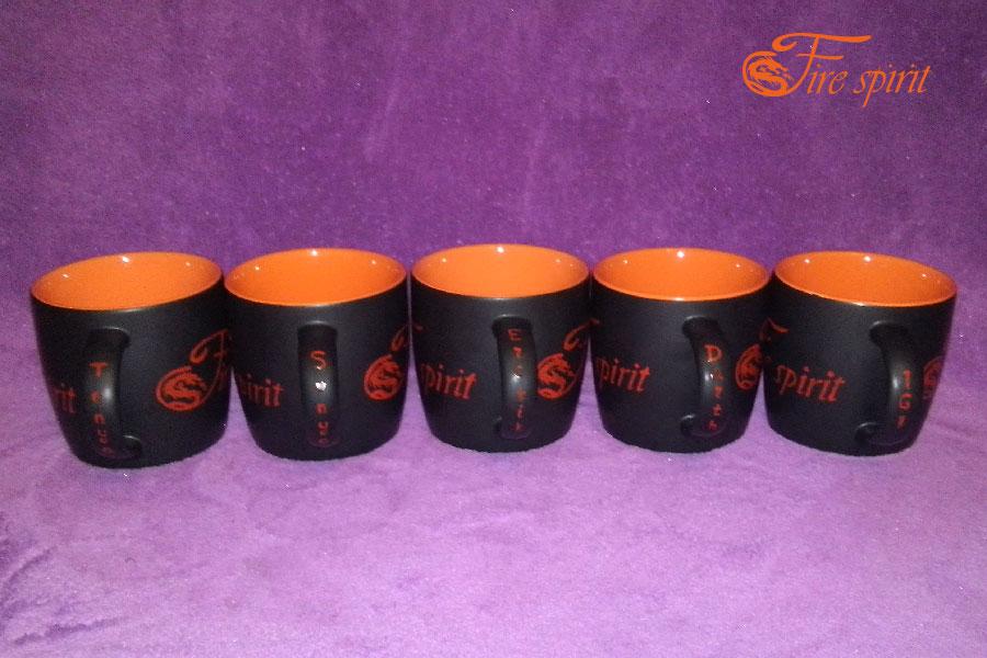 Чашки Fire Spirit фото 3