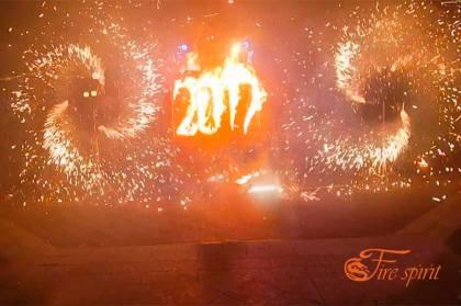 Пиротехнические вертушки от Fire Spirit