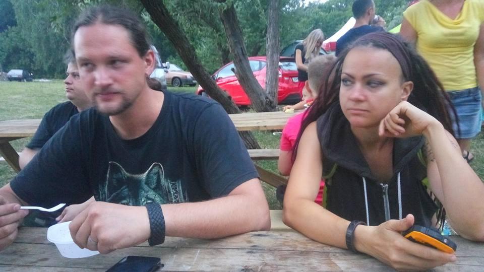 Антон и Оксана на фестивале