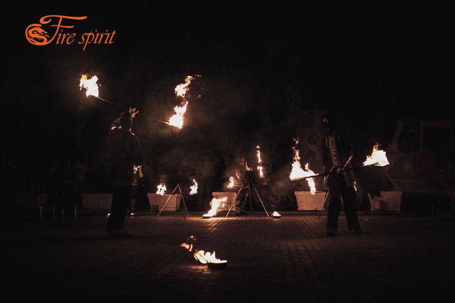 Фаер шоу в Мариуполе фото 10