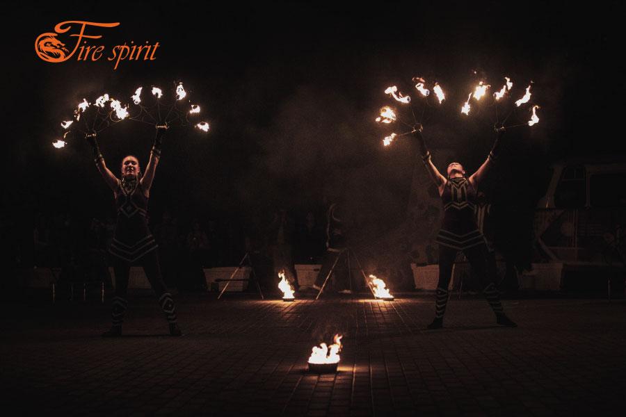 Фаер шоу в Мариуполе фото 2