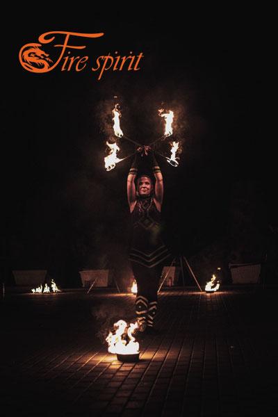 Фаер шоу в Мариуполе фото 9
