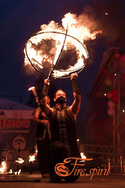 Фаер шоу в Буче фото 4