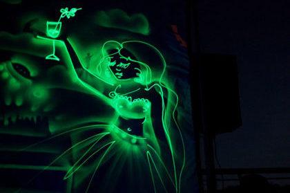 Заказать картины светом Fire Spirit
