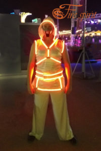 Светодиодный костюм фото 1