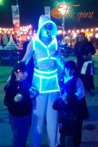Светодиодный костюм фото 4