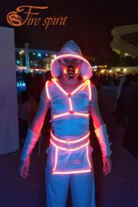 Светодиодный костюм фото 2