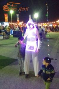 Светодиодный костюм фото 3