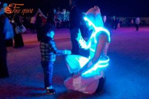 Световые костюмы фото 1