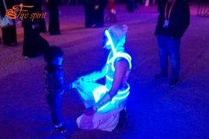Световые костюмы фото 2