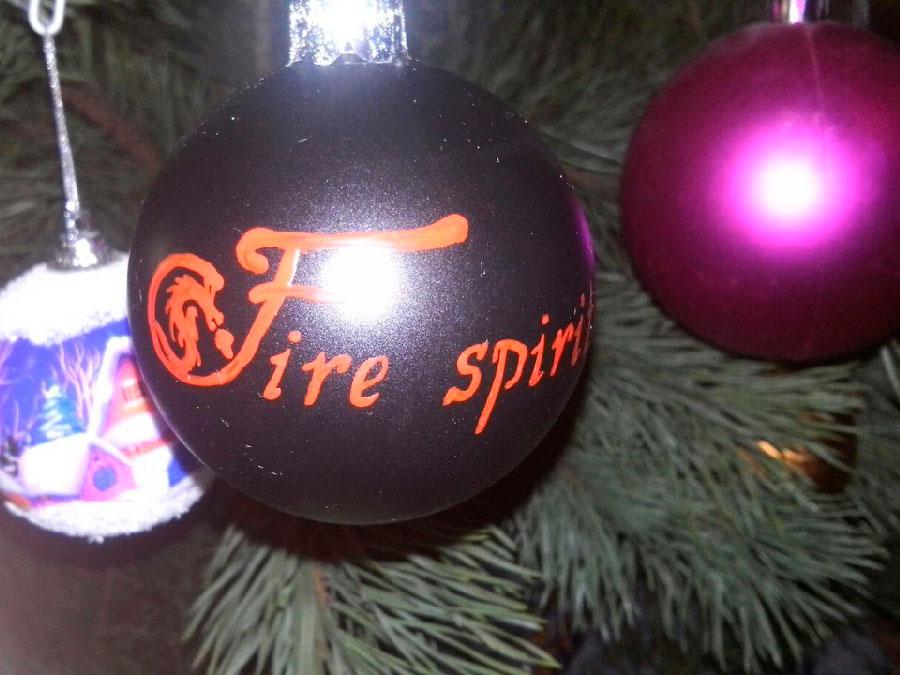 Новогодние шарики Fire Spirit фото 3