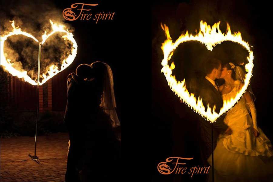 Огненные сердца фото