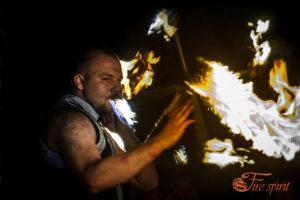 Огненное шоу фото 3