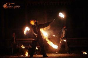 Огненное шоу фото 9