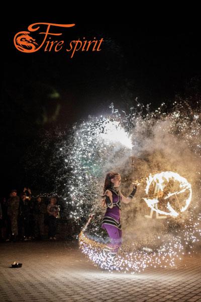 Огненное шоу в Мариуполе фото 10