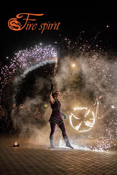Огненное шоу в Мариуполе фото 11