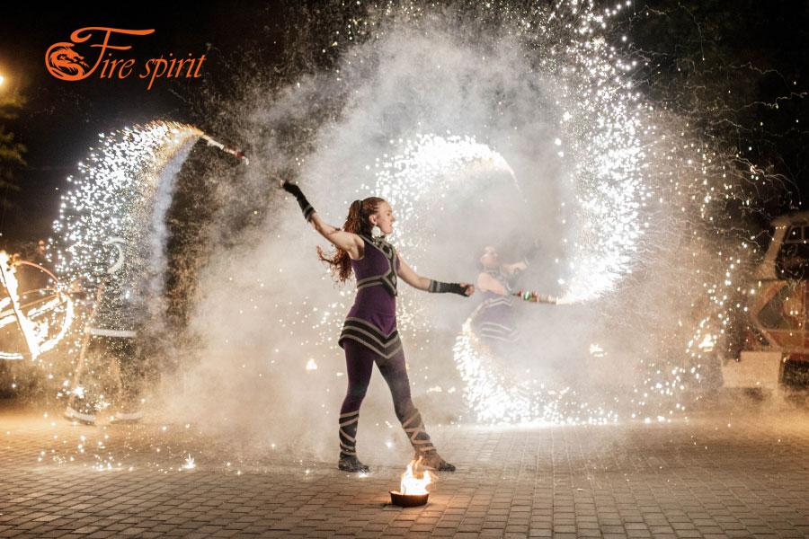 Огненное шоу в Мариуполе фото 16