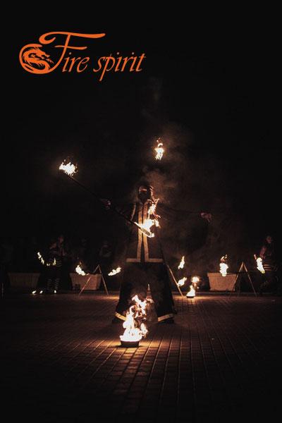 Огненное шоу в Мариуполе фото 2