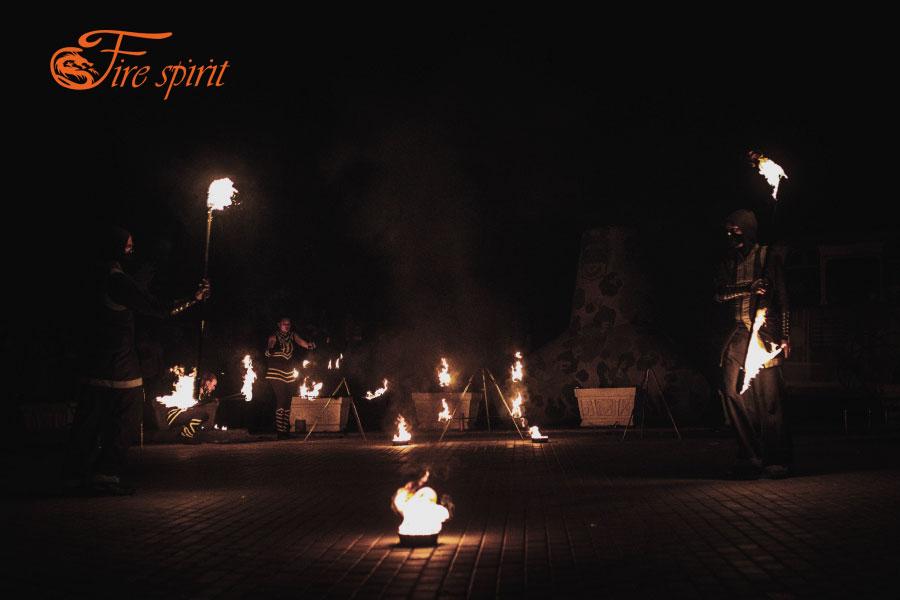 Огненное шоу в Мариуполе фото 4