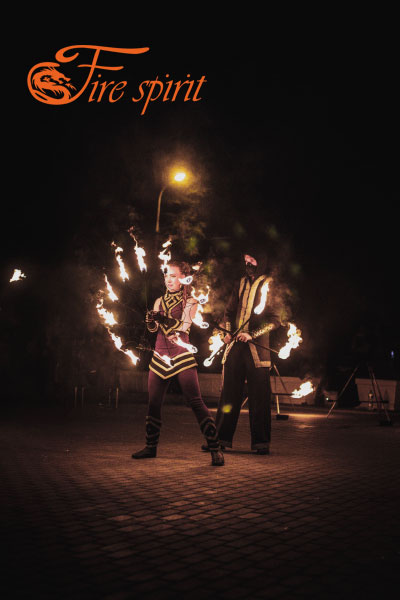 Огненное шоу в Мариуполе фото 5