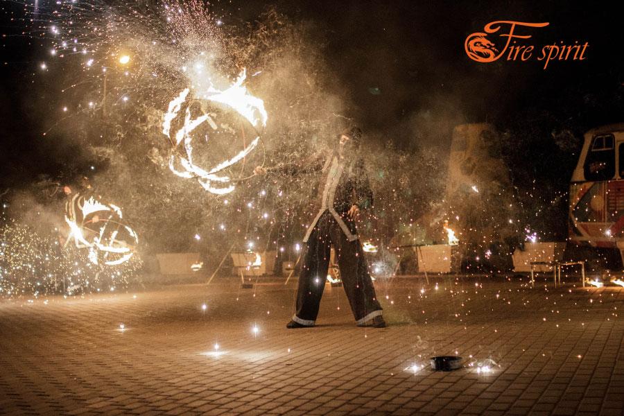 Огненное шоу в Мариуполе фото 6