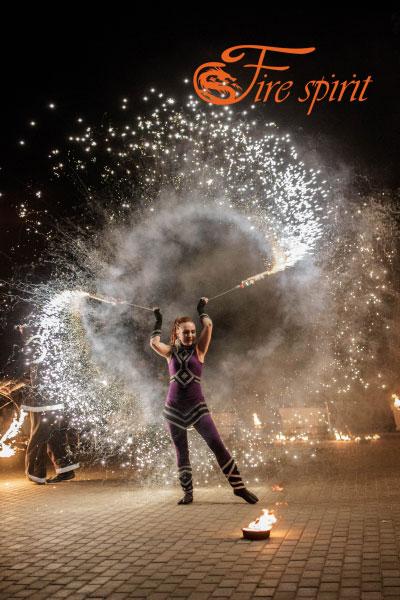 Огненное шоу в Мариуполе фото 7