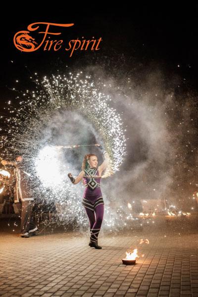 Огненное шоу в Мариуполе фото 8