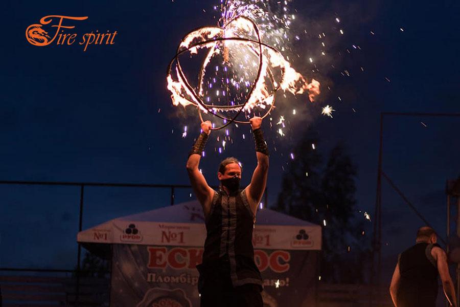 Огненное шоу в Буче фото 1