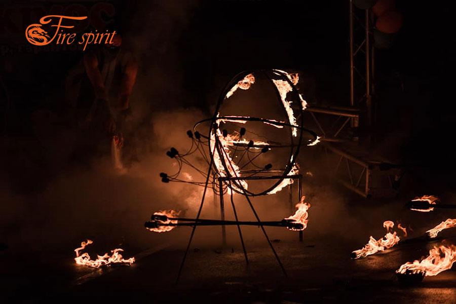 Огненное шоу в Буче фото 2
