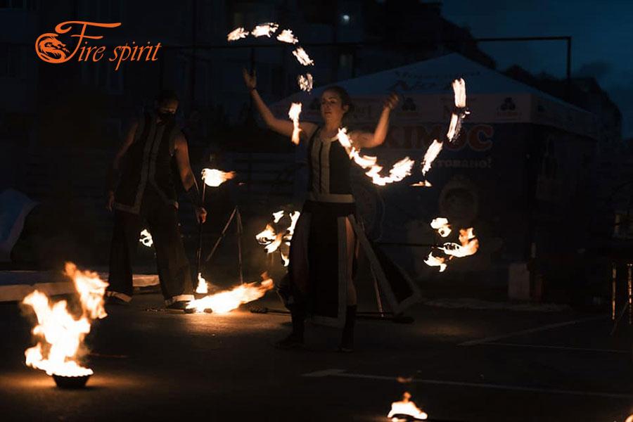 Огненное шоу в Буче фото 3