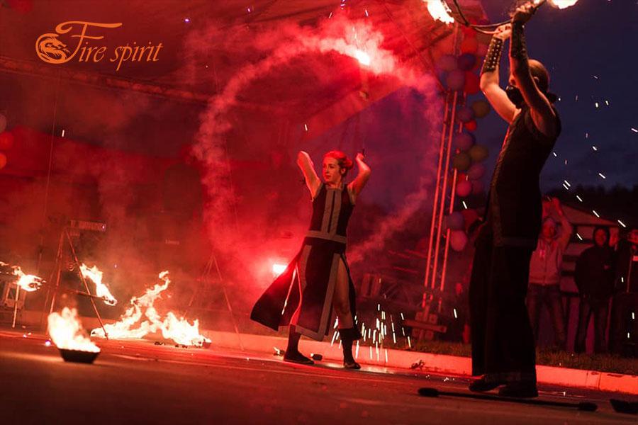 Огненное шоу в Буче фото 4