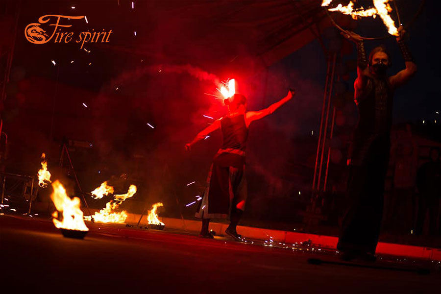 Огненное шоу в Буче фото 5