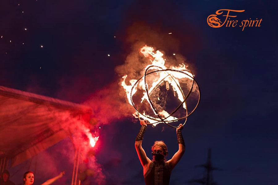 Огненное шоу в Буче фото 6