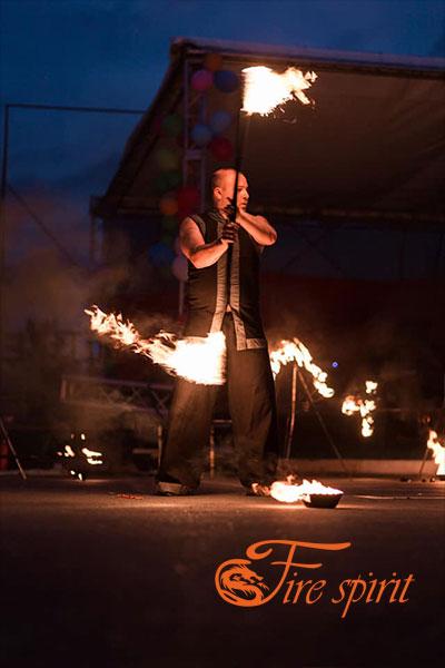 Фаер шоу в Буче фото 7
