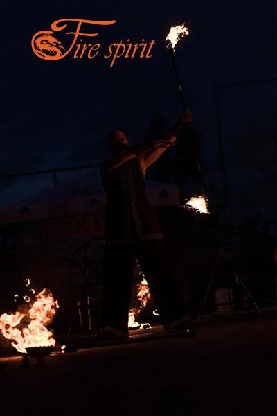 Фаер шоу в Буче фото 8