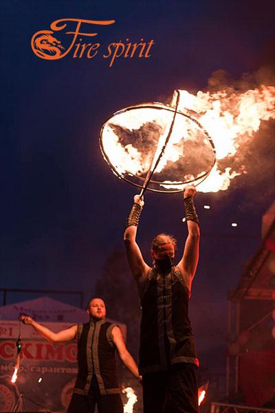 Фаер шоу в Буче фото 9