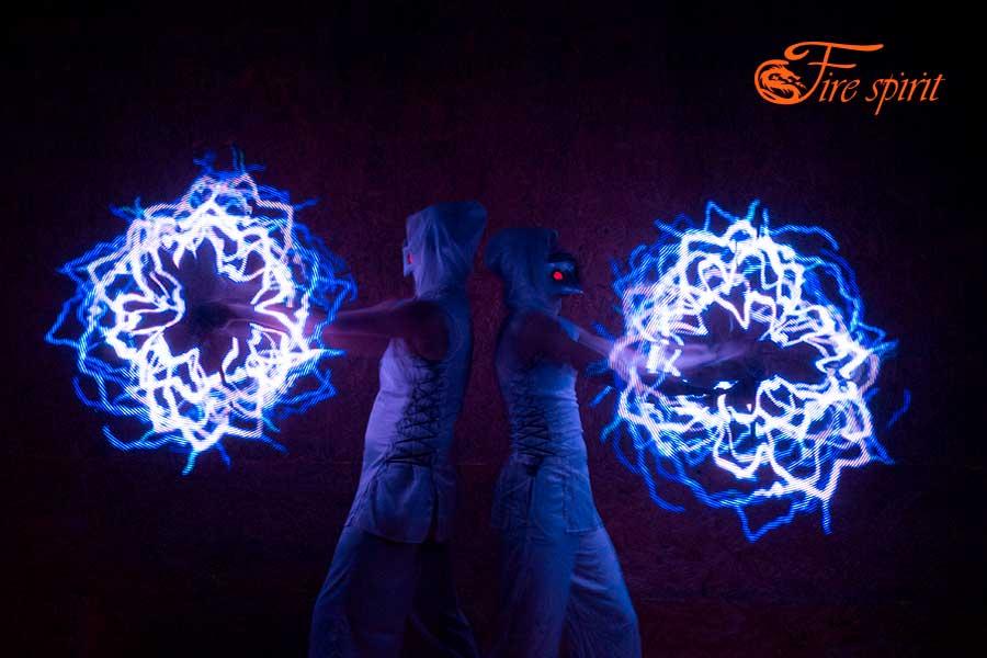 Пиксельное шоу Fire Spirit фото 1