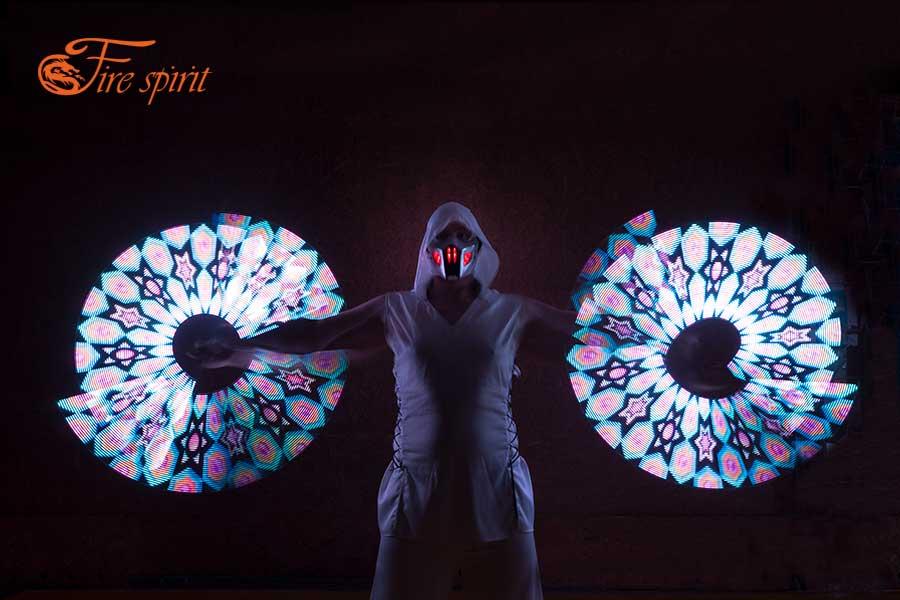 Пиксельное шоу Fire Spirit фото 10