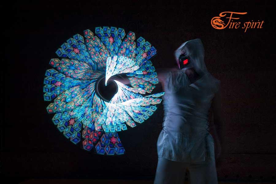 Пиксельное шоу Fire Spirit фото 11