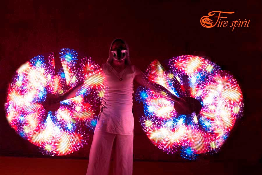 Пиксельное шоу Fire Spirit фото 12