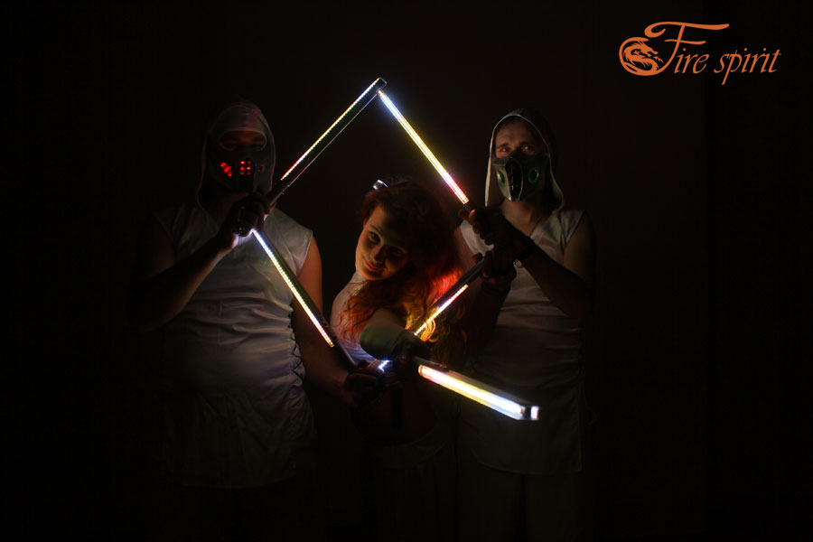 Пиксельное шоу Fire Spirit фото 17