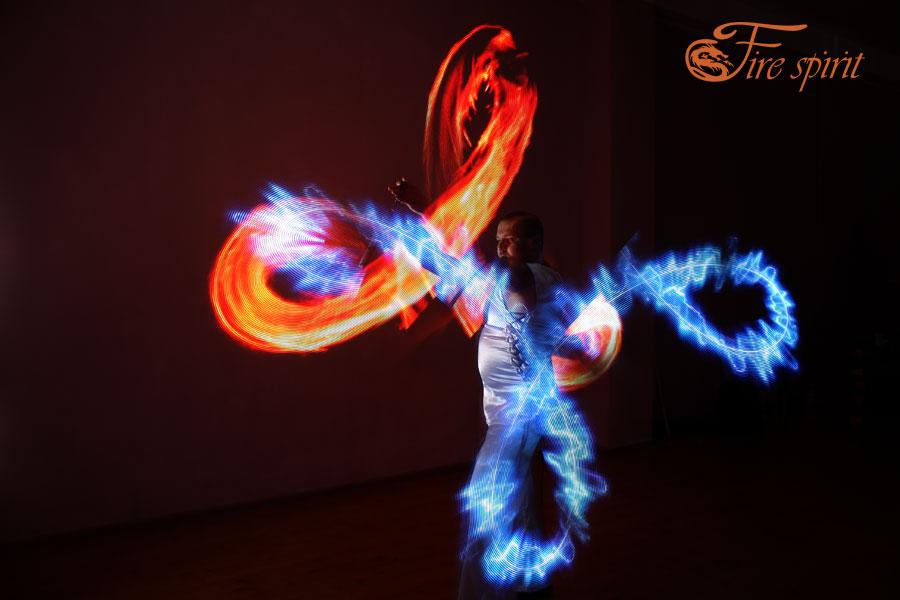 Пиксельное шоу Fire Spirit фото 18