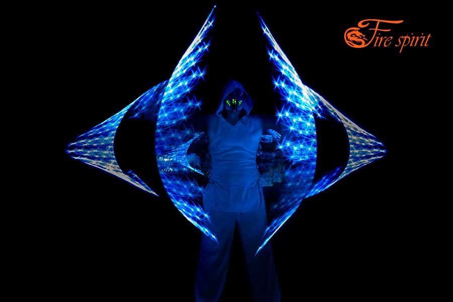Пиксельное шоу Fire Spirit фото 5
