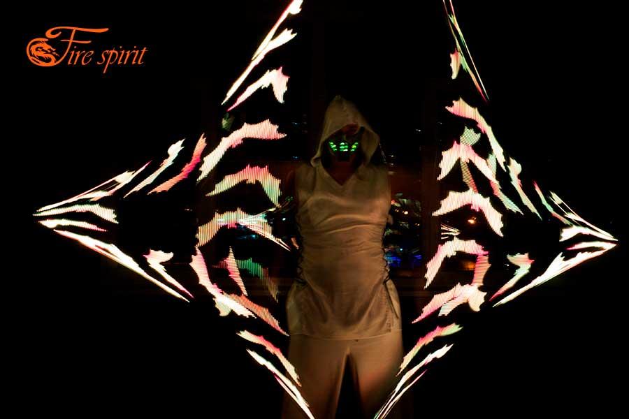 Пиксельное шоу Fire Spirit фото 6