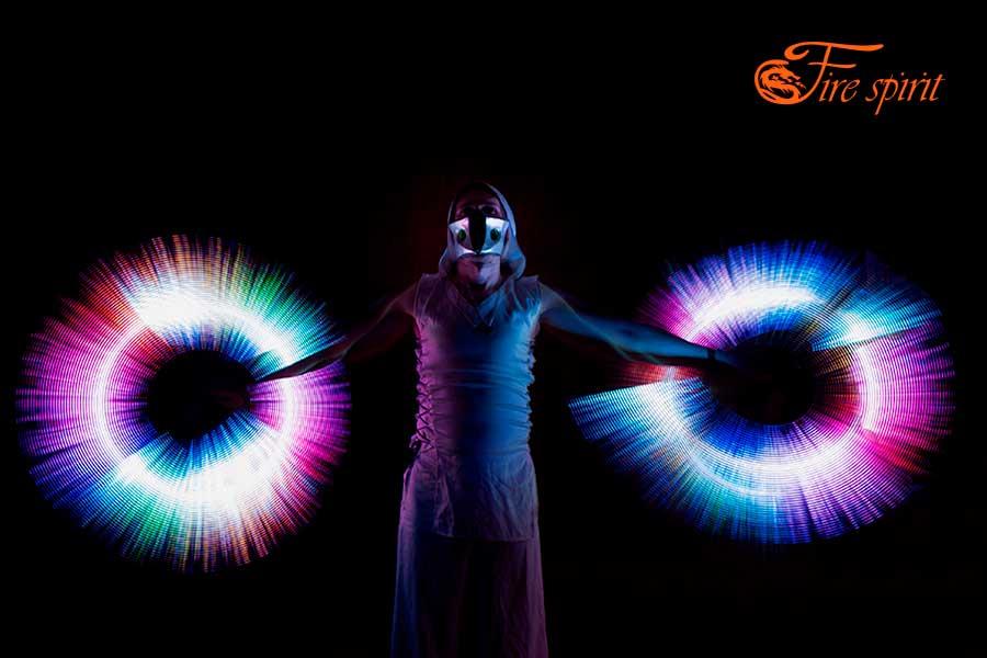 Пиксельное шоу Fire Spirit фото 7
