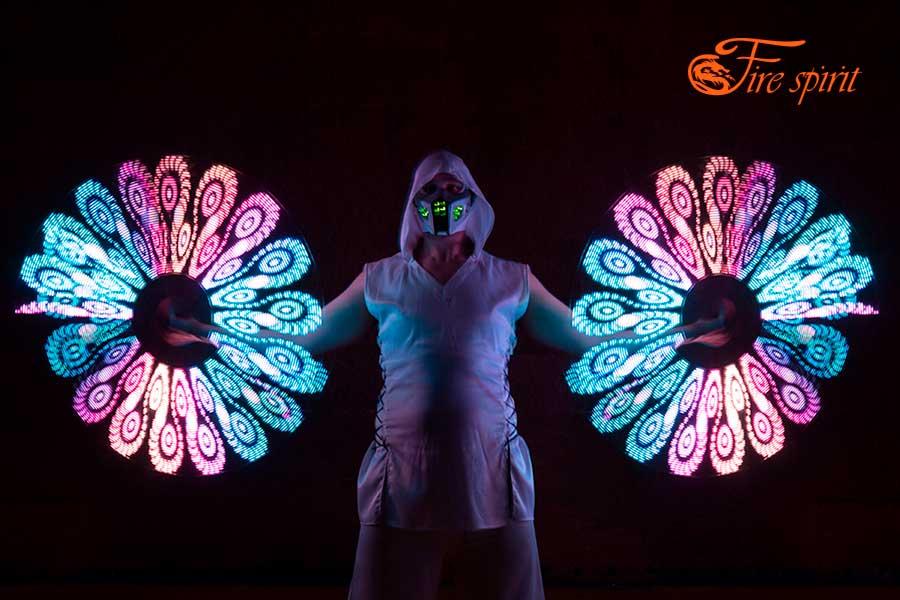 Пиксельное шоу Fire Spirit фото 9