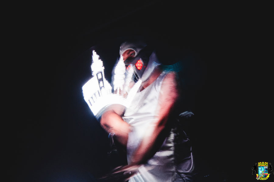 Пиксельное шоу в Малине фото 2