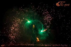 Пиротехническое шоу от Fire Spirit фото 10