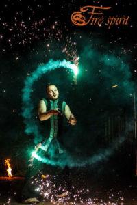 Пиротехническое шоу от Fire Spirit фото 15